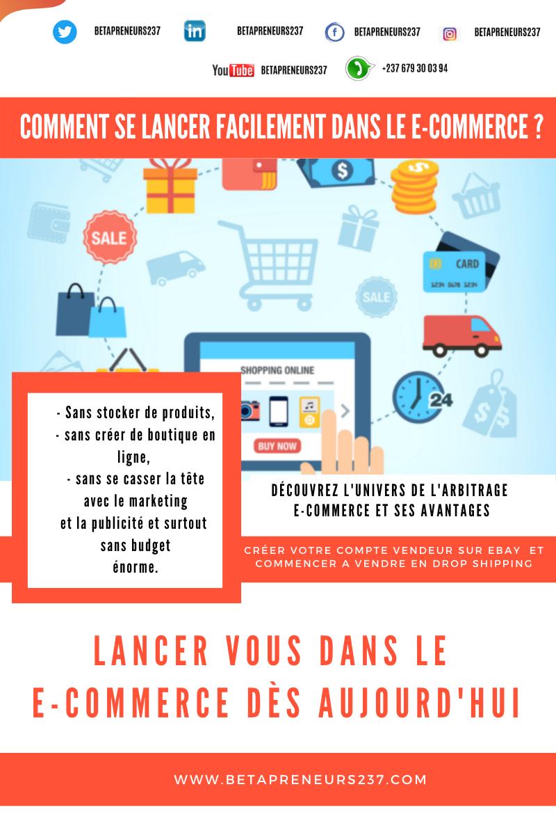 COMMENT SE LANCER FACILEMENT DANS LE E-COMMERCE ? Sans stocker de produits, sans créer de boutique en ligne, sans se casser la tête avec le marketing et la publicité et surtout sans budgeténorme.